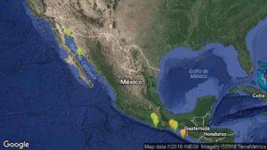 Con epicentro en Oaxaca