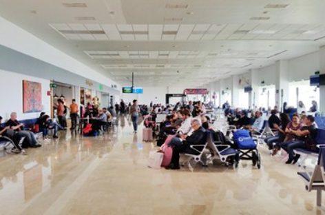 En aumento tráfico de pasajeros en el Aeropuerto Internacional de Oaxaca