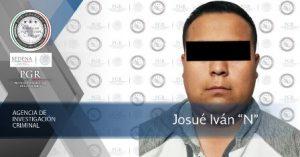 Es considerado probable generador de violencia en la región donde fue detenido.