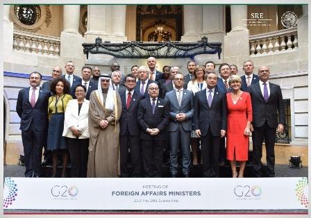 Concluye reunión en Buenos Aires, Argentina