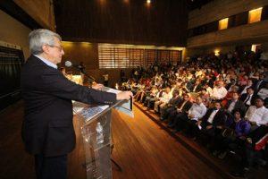 """Impartió la conferencia """"El Combate a la Corrupción y la Política Nacional Anticorrupción""""."""