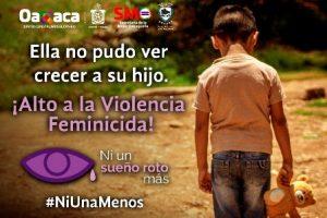 Detener la violencia contra la mujer en cualquiera de sus ámbitos.