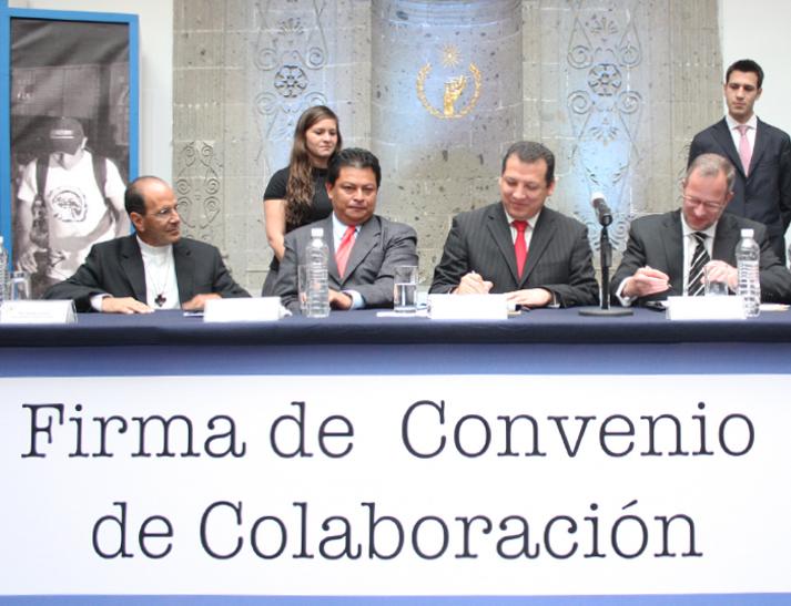 Firman Convenio la CNDH y la Organización Internacional para las Migraciones