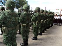 Elementos del 95 Batallón de Infantería