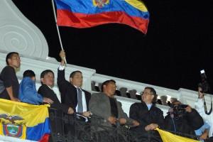 Fracasa golpe de estado en Ecuador