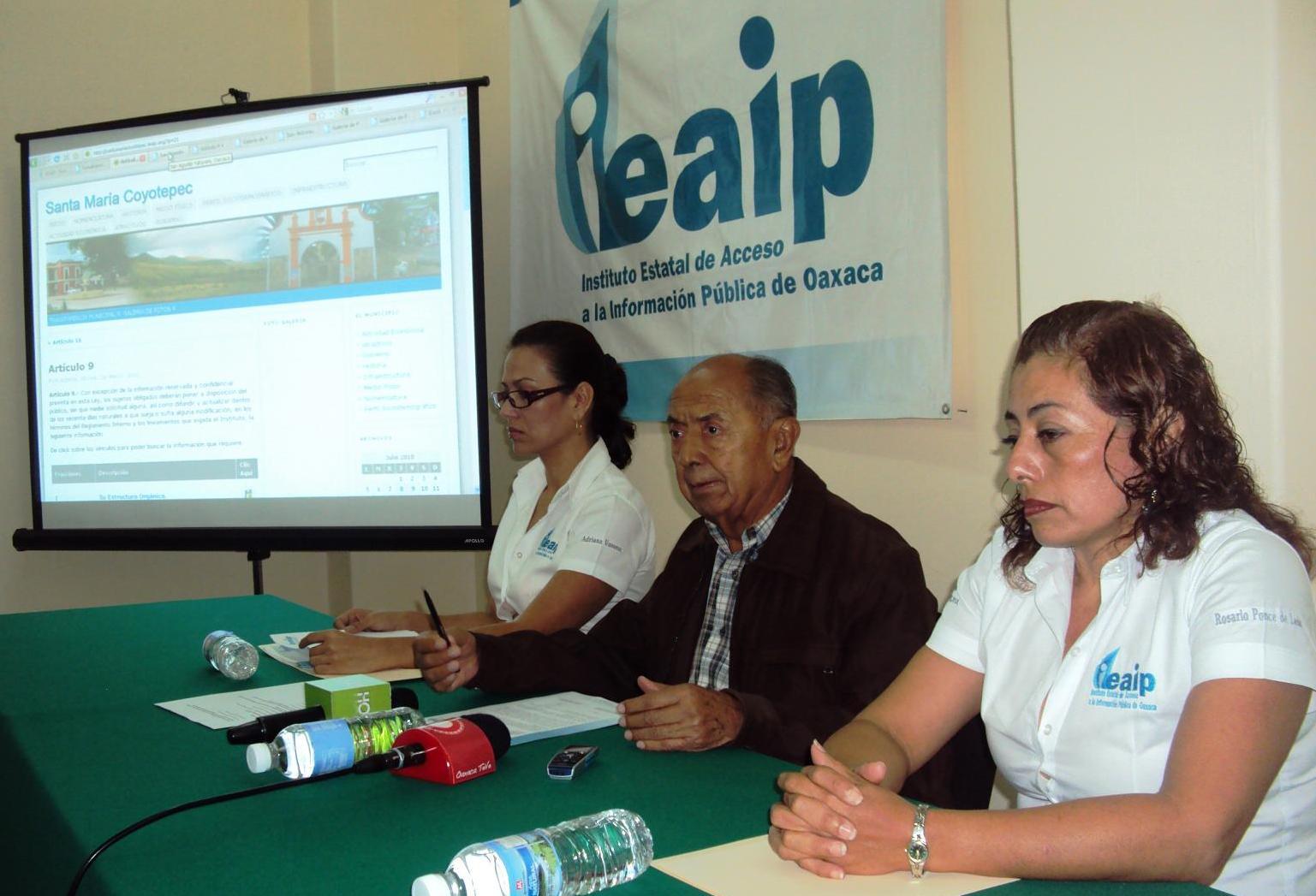 Indispensable, que jóvenes conozcan tareas de funcionarios: IEAIP