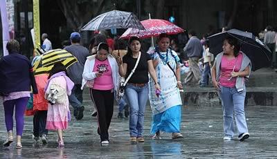En Oaxaca, las lluvias más intensas de las últimas 24 horas: SMN