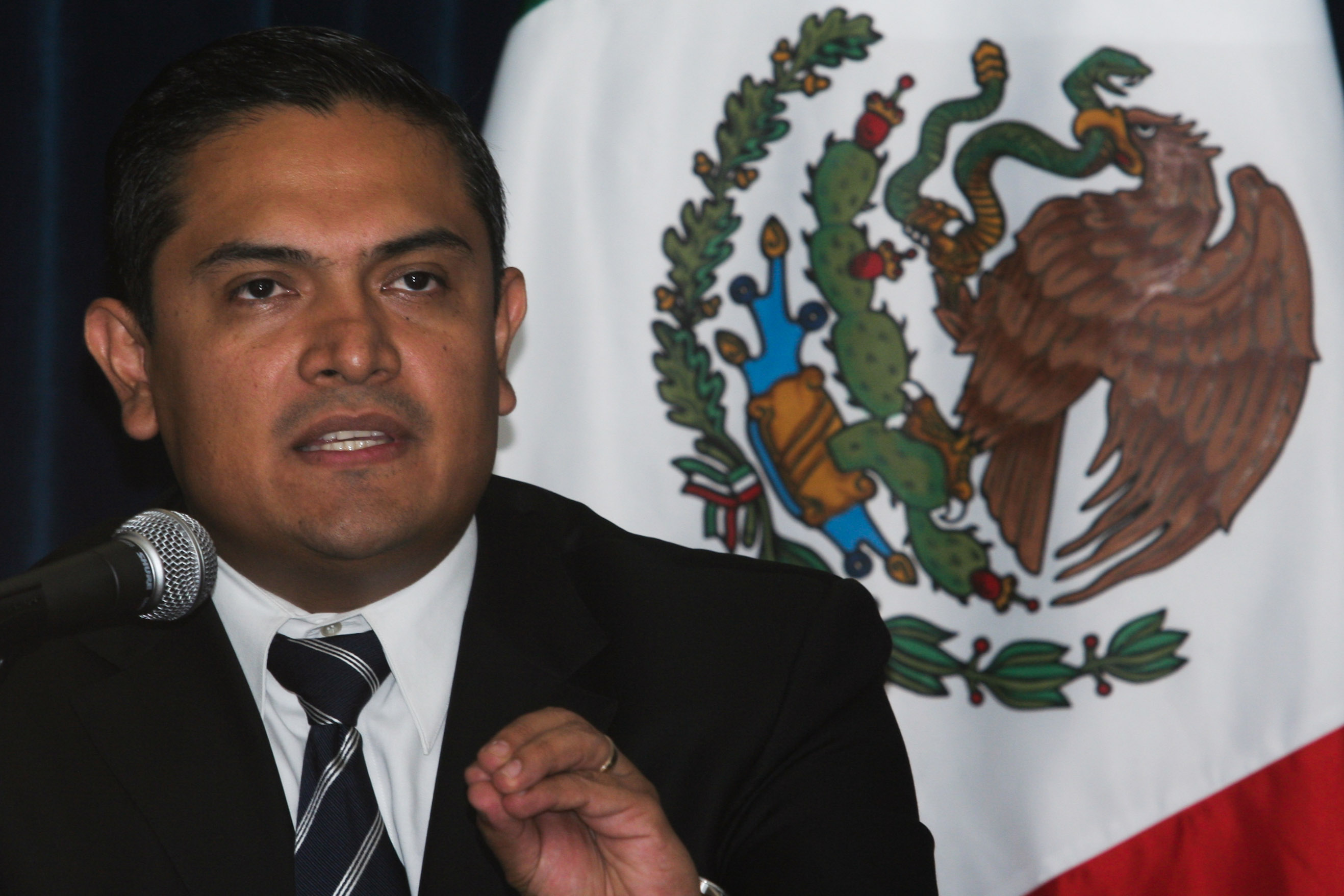 El nuevo secretario de Seguridad de Oaxaca.