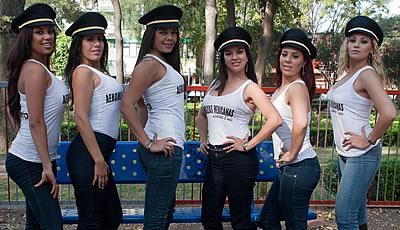 Aeromozas mexicanas