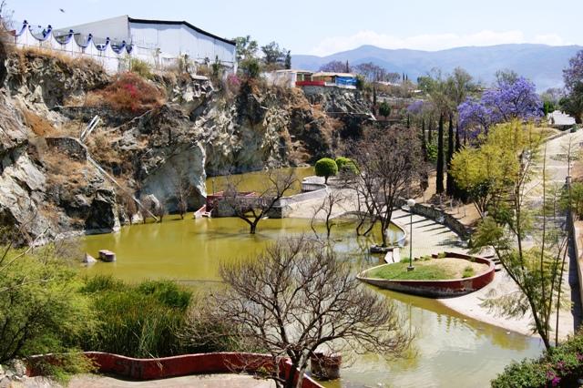 """Parque """"Ciudad de las Canteras"""" de la belleza, al olvido y al crimen"""