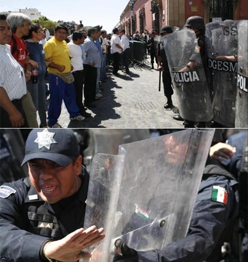 Se deslinda el reportero Jaime Guerrero de la agresión, al secretario de Seguridad de Oaxaca