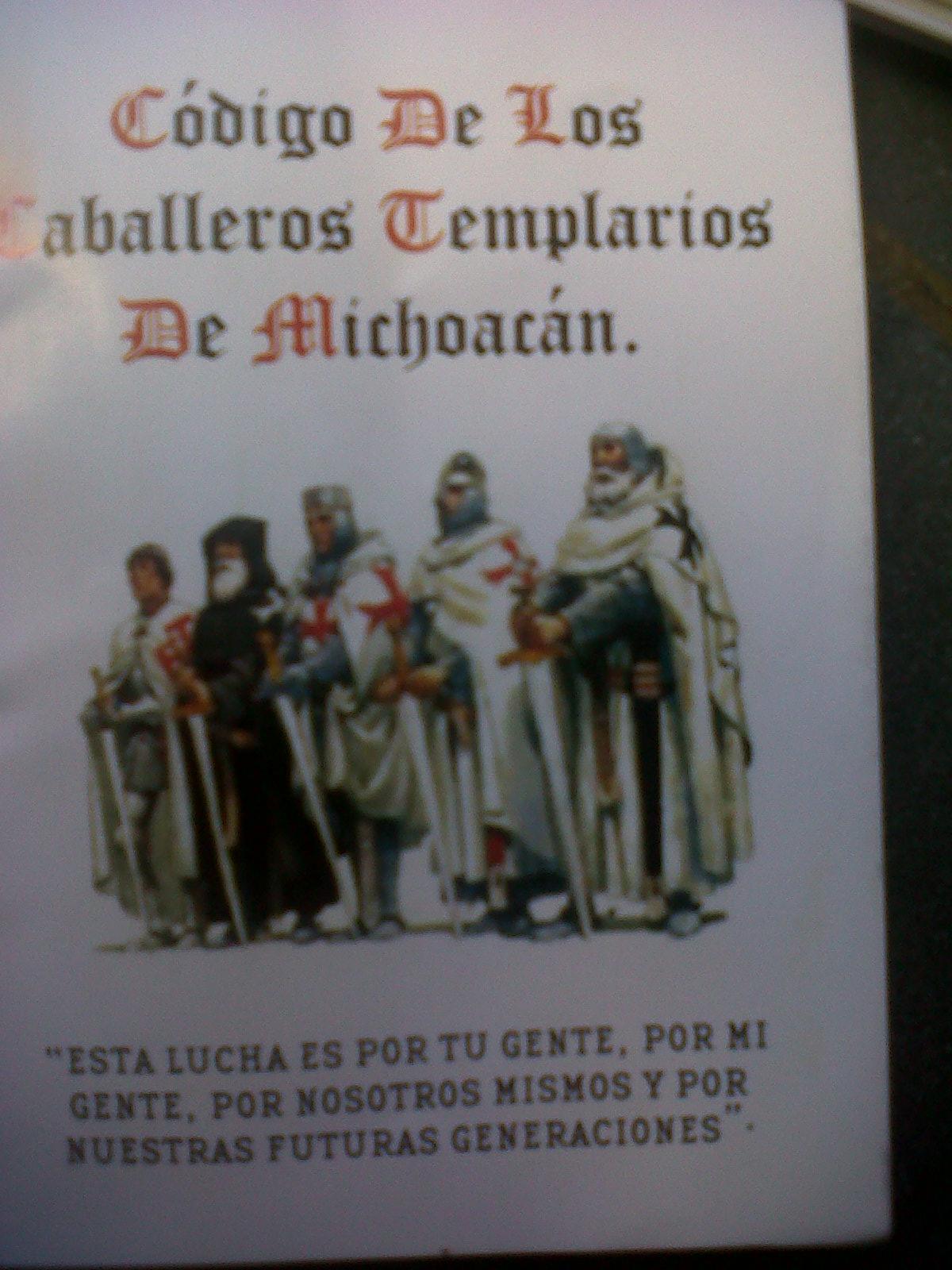 El código de los Caballeros Templarios de Michoacán