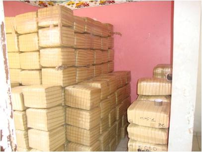 Asegura personal militar más de una tonelada y media de mariguana en Culiacán, Sinaloa