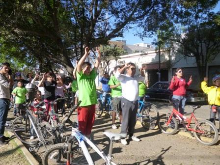 Visita Paseo Dominical Bienestar 40, instalaciones deportivas de San Sebastián Tutla