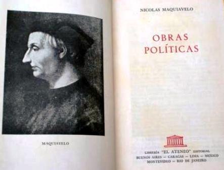 Maquiavelo, sobre Elba Esther