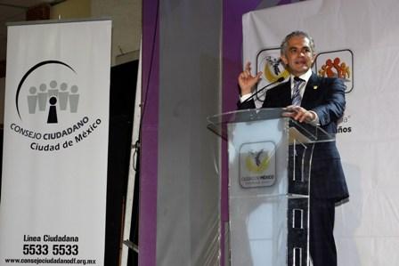 Instalan Consejo Consultivo Ciudadano en el DF para combatir desviación del servicio público
