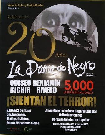 """Llega la """"Dama de Negro"""" a la capital oaxaqueña; a beneficio de la Casa Hogar Municipal y Asilo de Ancianos"""