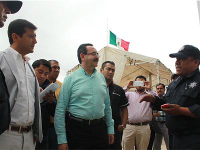 Fin a paro policiaco en Oaxaca luego 15 días, Alberto Esteva titular de la SSP ausente