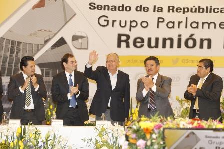 Inauguran VI Reunión Plenaria del Grupo Parlamentario del PRD