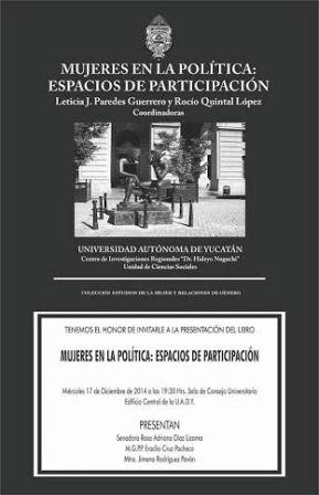 Presentacion de libro de la UADY