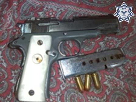 Portaban armas de fuego sin licencia