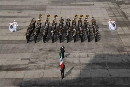 """Participará México en el Festival Internacional de la Música Militar """"Torre Spásskaya 2015"""", en Moscú, Rusia"""