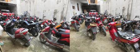 Decomisan 10 motocicletas durante operativo en la Costa de Oaxaca