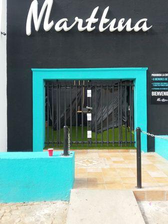 """Por reiteradas violaciones al reglamento municipal, clausuran establecimiento comercial """"La Marttina"""""""