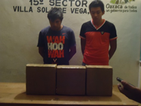 La detención en Sola de Vega