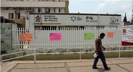 En ruinas sistema de salud de Oaxaca y el ex secretario Germán Tenorio, exonerado