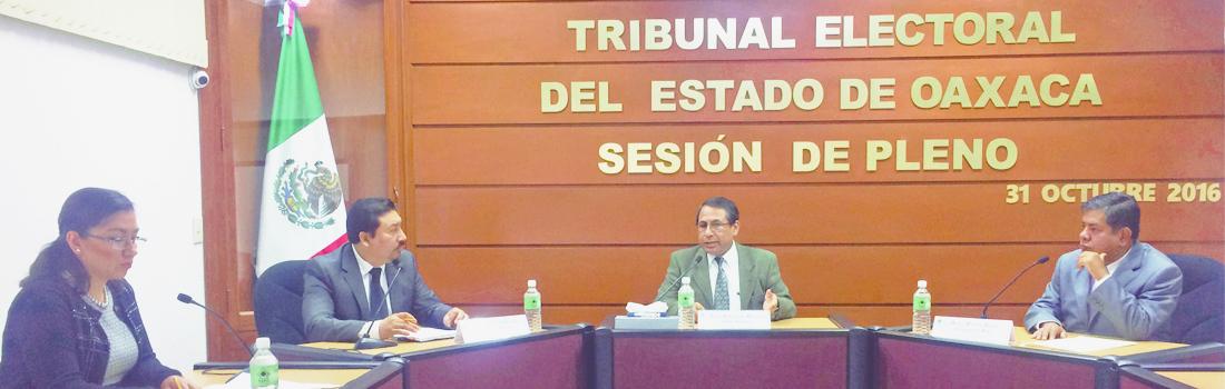 PAN y PT con derecho a bancada legislativa, reconoce el Tribunal Electoral de Oaxaca