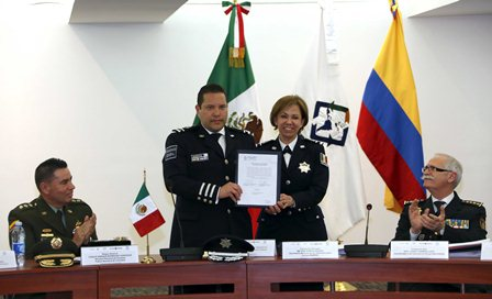 Coordinadora del Sistema de Desarrollo Policial
