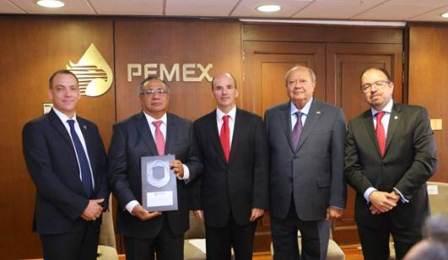 Recibe Pemex Exploración y Producción