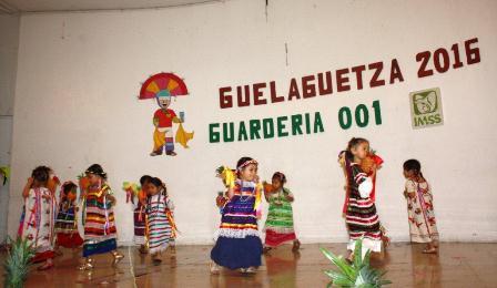 Invita guardería del IMSS a su tradicional Mini-Guelaguetza 2017