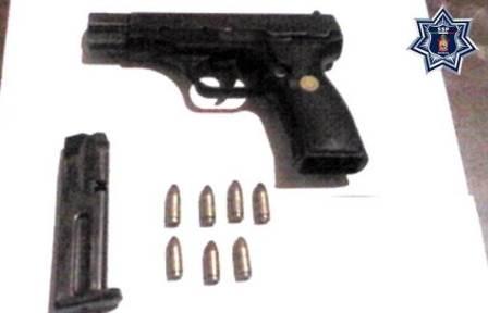 Portaba un arma de fuego