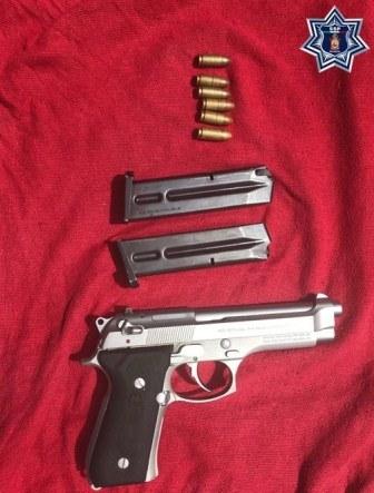 Aprehenden a tres sujetos en la Costa e Istmo por portación ilegal de armas de fuego
