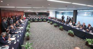 El Senado recibió del INE las constancias que acreditan a los senadores electos.