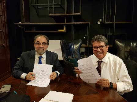 Acuerdan Alianza Legislativa y Agenda Programática Morena y Nueva Alianza