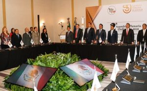 Segunda Asamblea Plenaria Ordinaria de la Comisión Nacional de Tribunales Superiores de Justicia de los Estados Unidos Mexicanos.