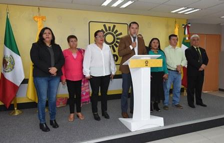 Exige CEN del PRD Comisión de la Verdad para investigar desaparición de los 43 normalistas