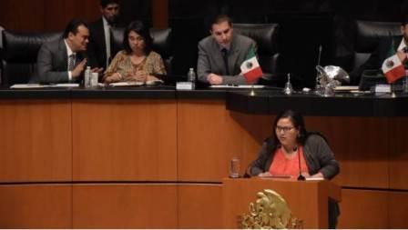 Senadora del partido Morena