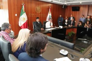 """""""Planteamos que, por primera vez, el Senado mexicano vaya a la par del conocimiento de este documento""""."""