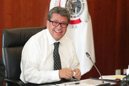 Solicitará Senado al Gobierno Federal copia del acuerdo comercial con EU: Monreal Ávila