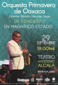 """Bajo la dirección del maestro Rodolfo """"Popo"""" Sánchez."""