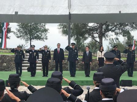 Inauguran Centro de Entrenamiento Conjunto de Operaciones de Paz de México