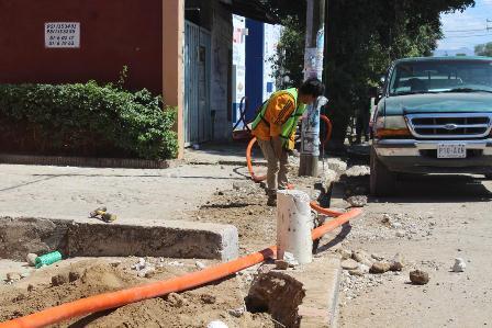 Renovarán 42 luminarias en la Avenida Lázaro Cárdenas de Santa Lucía del Camino