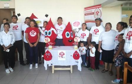 Campaña de Donación Altruista de Sangre en el Hospital General de Ciudad Ixtepec