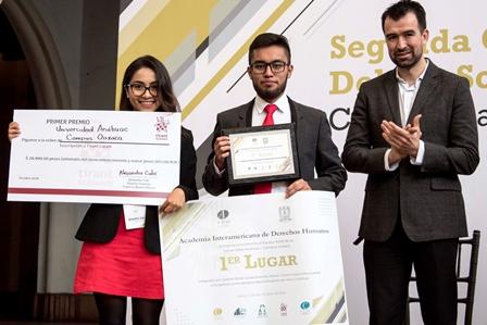 Gana Escuela de Derecho de la UAO Concurso Nacional de Debate Político