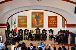 Sesion de Cabildo de Oaxaca de Juárez
