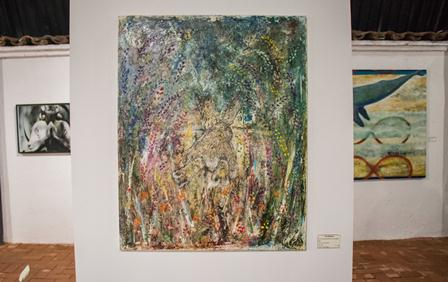 Exponen mujeres artistas